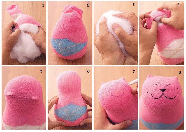 Как поэтапно сделать игрушку своими руками