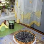 Рецепт черничного пирога.