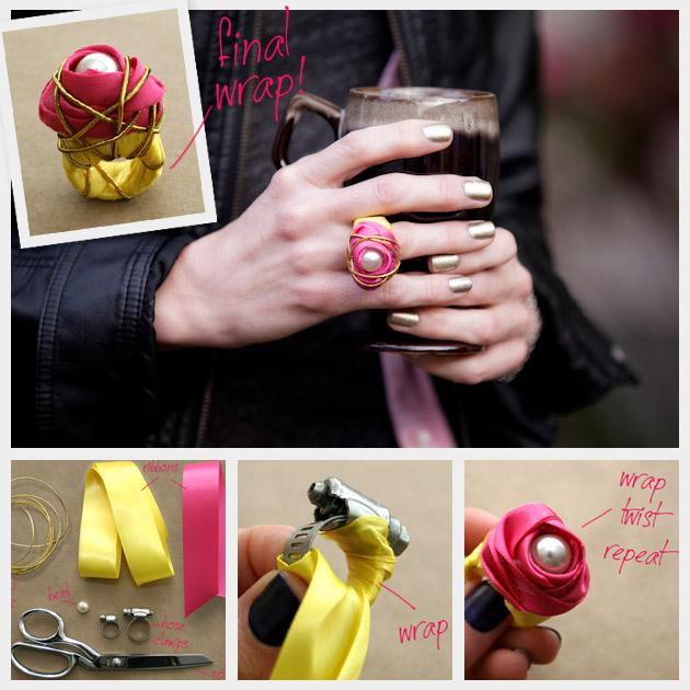 Идеи как сделать кольцо