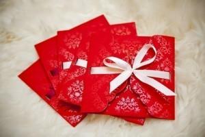 Как сделать новогодний конверт