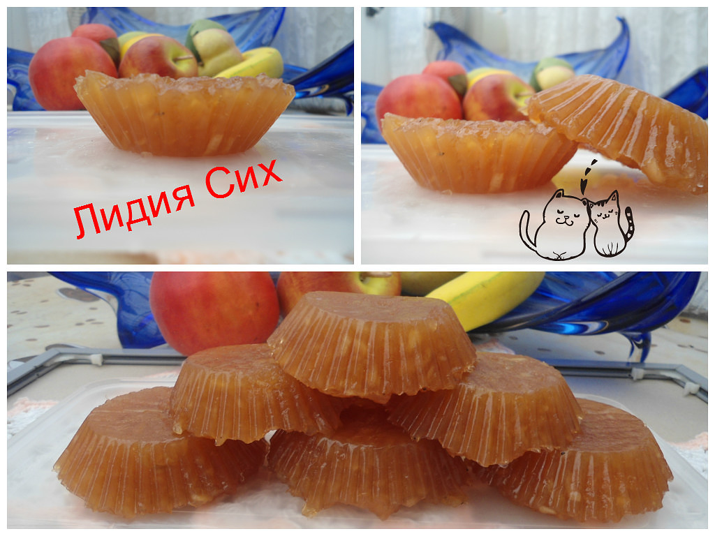 Как сделать мармелад яблочный