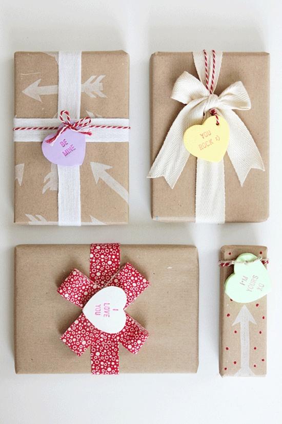 Идеи подарочков, аксессуаров, упаковки на день св. Валентина