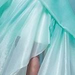 платье мятного цвета 1