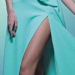 платье мятного цвета 2