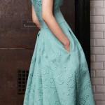 платье мятного цвета3