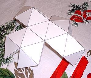как сделать новогоднюю звезду4
