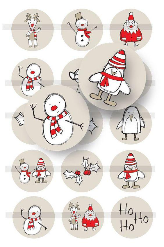 новогодние рисунки скетч