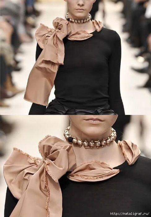 Переделка одежды своими руками простой вещи в нарядную