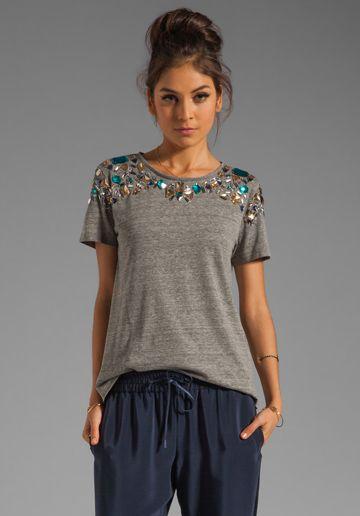 Переделка одежды своими руками из простой футболки