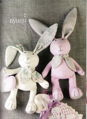 Пасхальный кролик своими руками пошагово