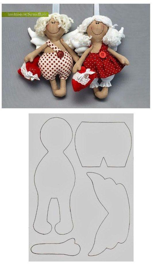 Куклы тряпиенсы ангелочки